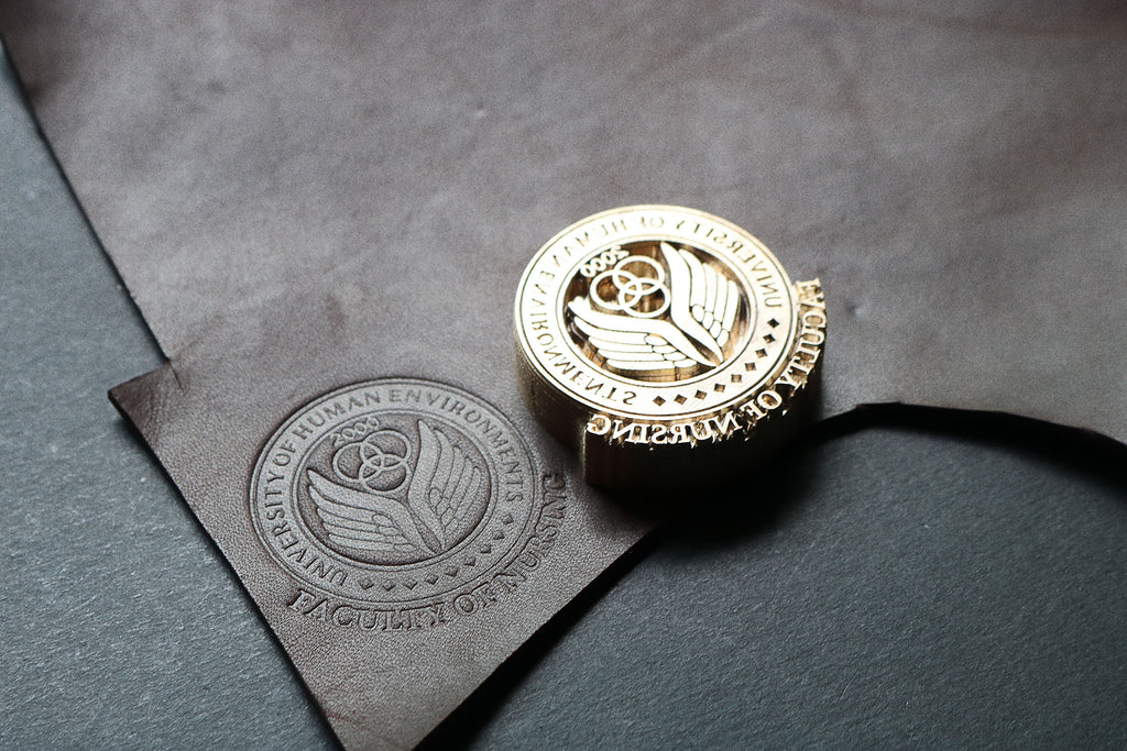 order custom stamps for your leather projects on AM-leathercraft.com