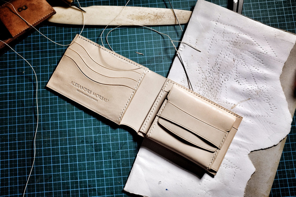 bifold wallet pdf download patterns/leather craft tutorial