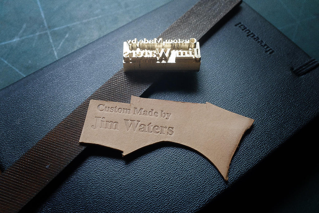 Custom stamp maker for leather https://am-leathercraft.com/pages/custom-made-stamps