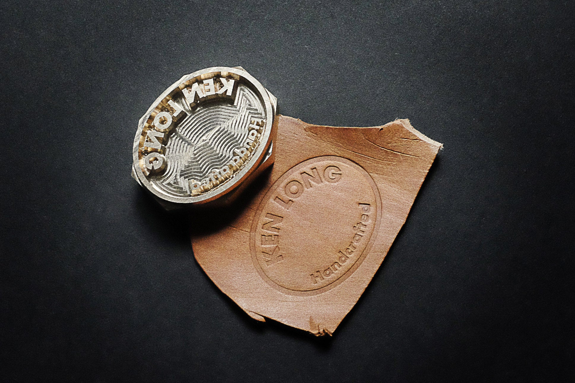 Get custom-made leather stamps for your leather projects on AM-leathercraft.com
