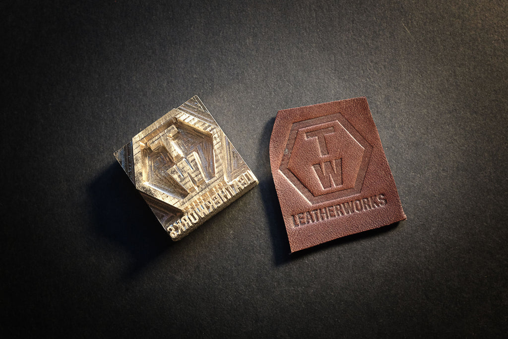 Get your custom stamp made for your leather projects on am-leathercraft.com