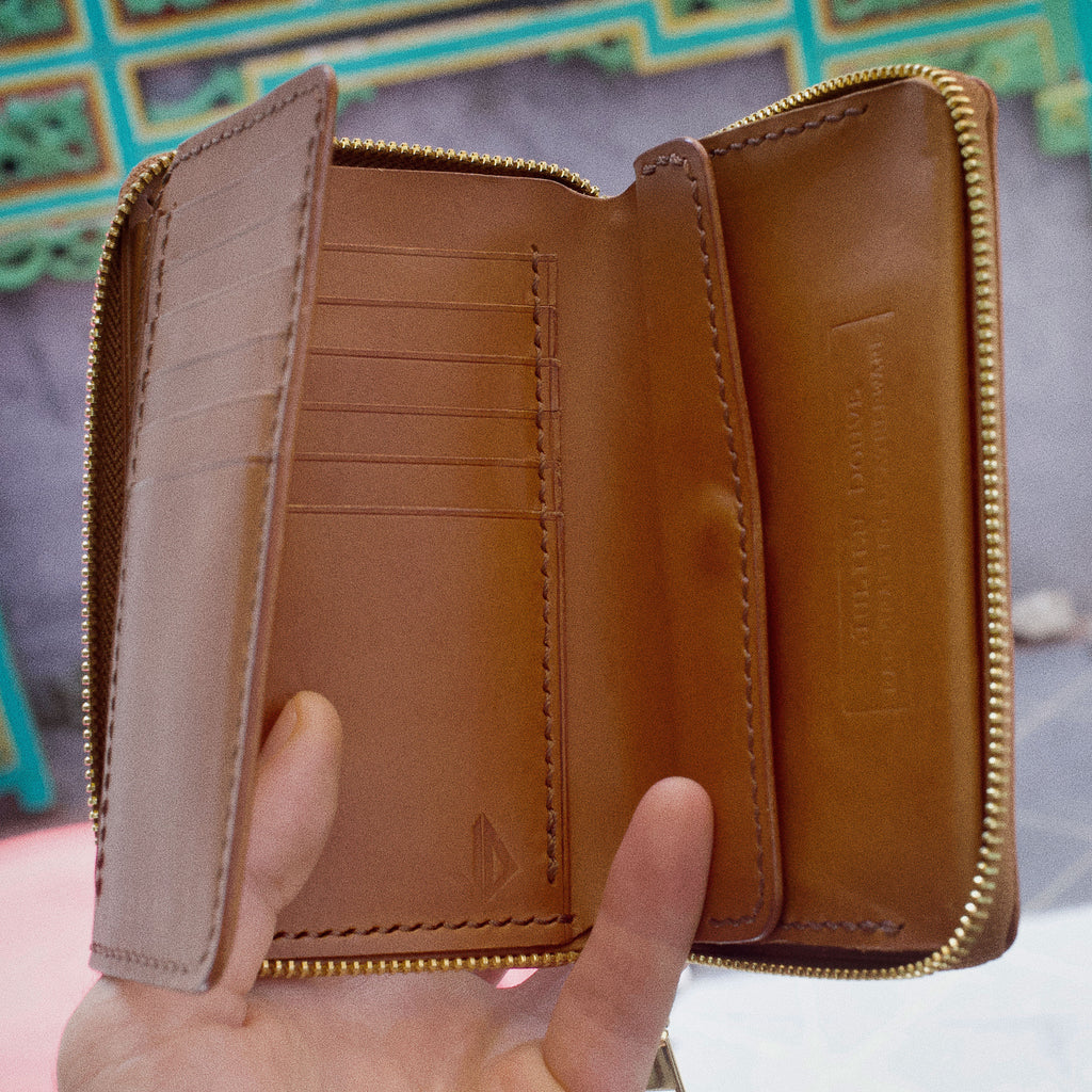 Zipped wallet Julien Douve