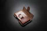 pdf pattern to make a leather molded card holder