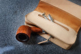 TOBACCO / PIPE POUCH - PDF patterns + video tutorial