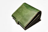 Strap closure wallet