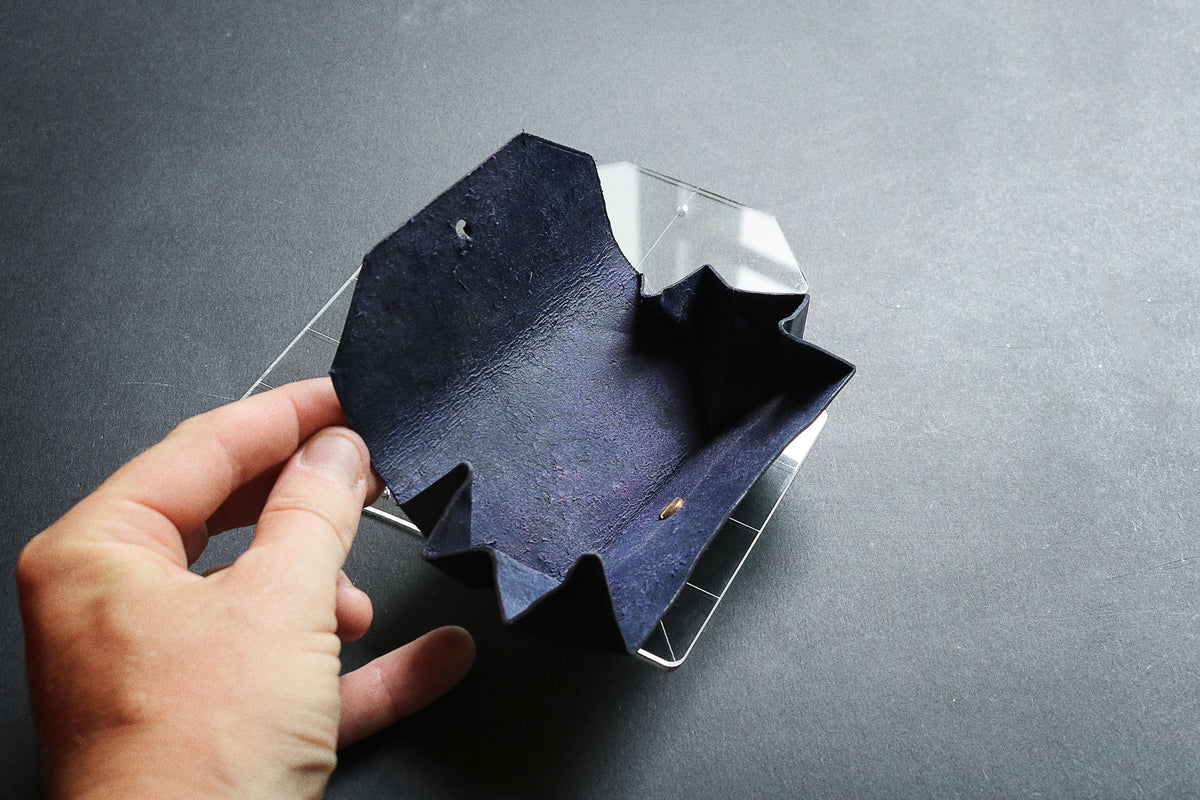 ORIGAMI COIN POUCH II - acrylic patterns + video tutorial ... - photo#32
