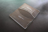acrylic templates to make a leather phone wallet