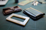Acrylic mold • to make leather card holders 10 x 5 x 0.7 cm