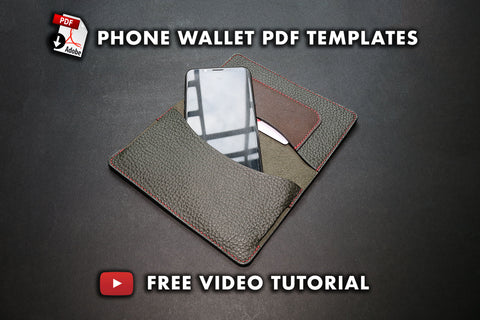 Pdf templates to make a phone wallet
