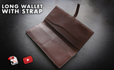 LONG WALLET WITH STRAP - PDF PATTERNS + VIDEO TUTORIAL