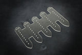 Leather craft acrylic patterns for watch straps