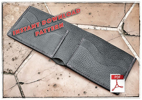 Download pdf patterns for leather bifold wallet • leather craft