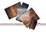 WALLET, PASSPORT HOLDER & 2 CARD HOLDERS BUNDLE - PDF patterns + video tutorials