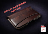 PHONE CASE, WALLET & CARD HOLDER BUNDLE - PDF patterns + video tutorials