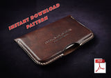 PEN CASE, IPHONE CASE, WALLET, PASSPORT HOLDER & CARD HOLDER BUNDLE - PDF patterns + video tutorials