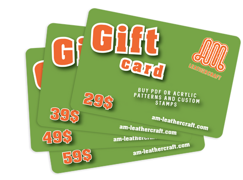 GIFT CARD ($29 TO $59) ON ALL OUR COLLECTIONS & CUSTOM-MADE PRODUCTS