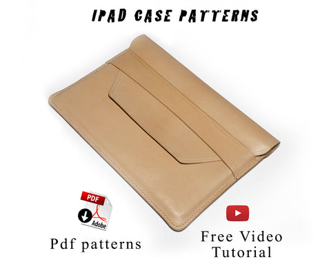 Ipad case patterns and video tutorial