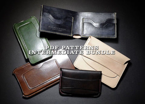 INTERMEDIATE BUNDLE (-25%) - PDF patterns + video tutorials