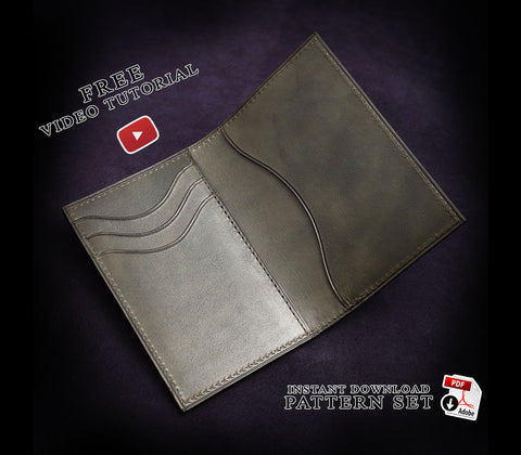Various wallets • downloadable pdf patterns – AM leathercraft