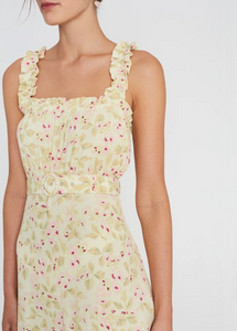 Saint Tropez Midi Dress | Adele Floral