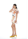 EFFERVESCENT FLORAL MINI DRESS