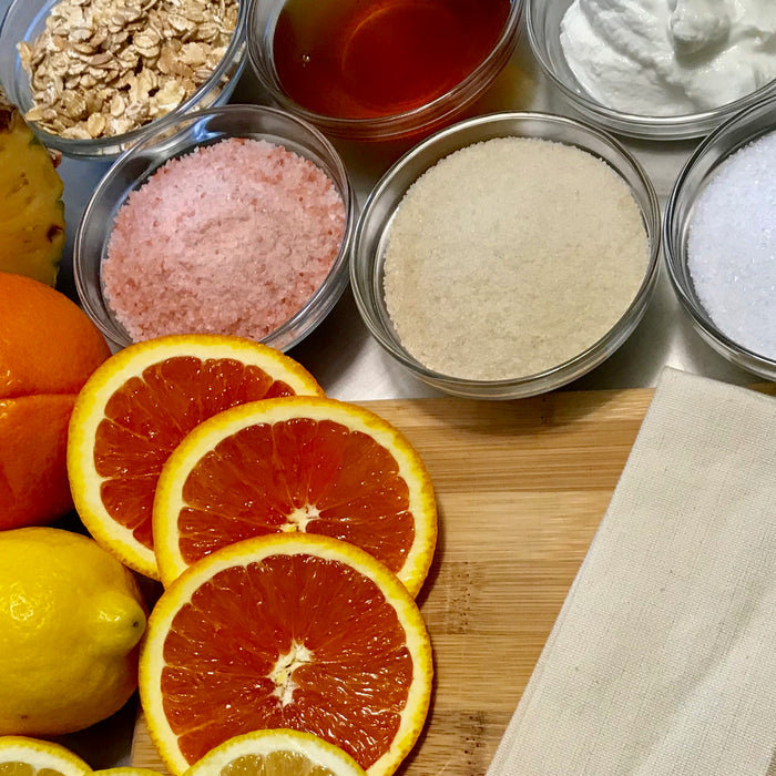 All Natural Exfoliants and How to Make Your Own