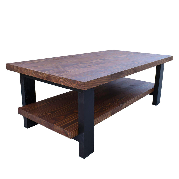 kent rustic modern farmhouse coffee table