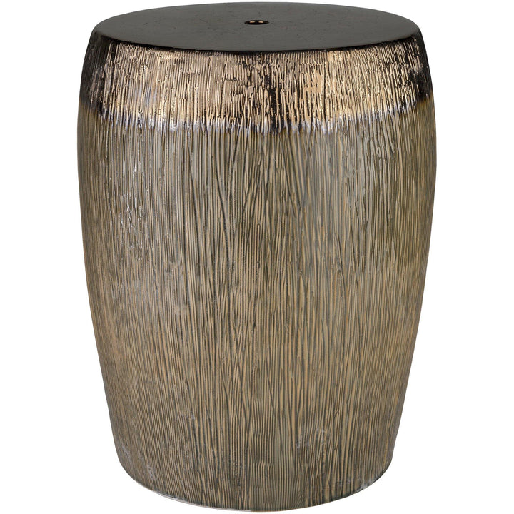indoor outdoor ceramic stool