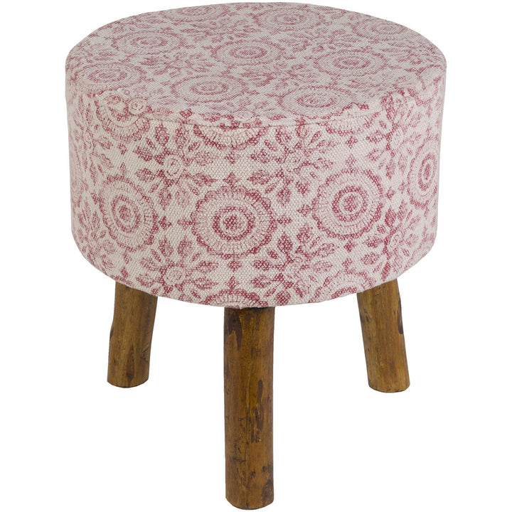 cotton cloth upholstered stool