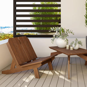 Loft Wood Outdoor Chair - emark