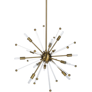 sputnik chandelier light