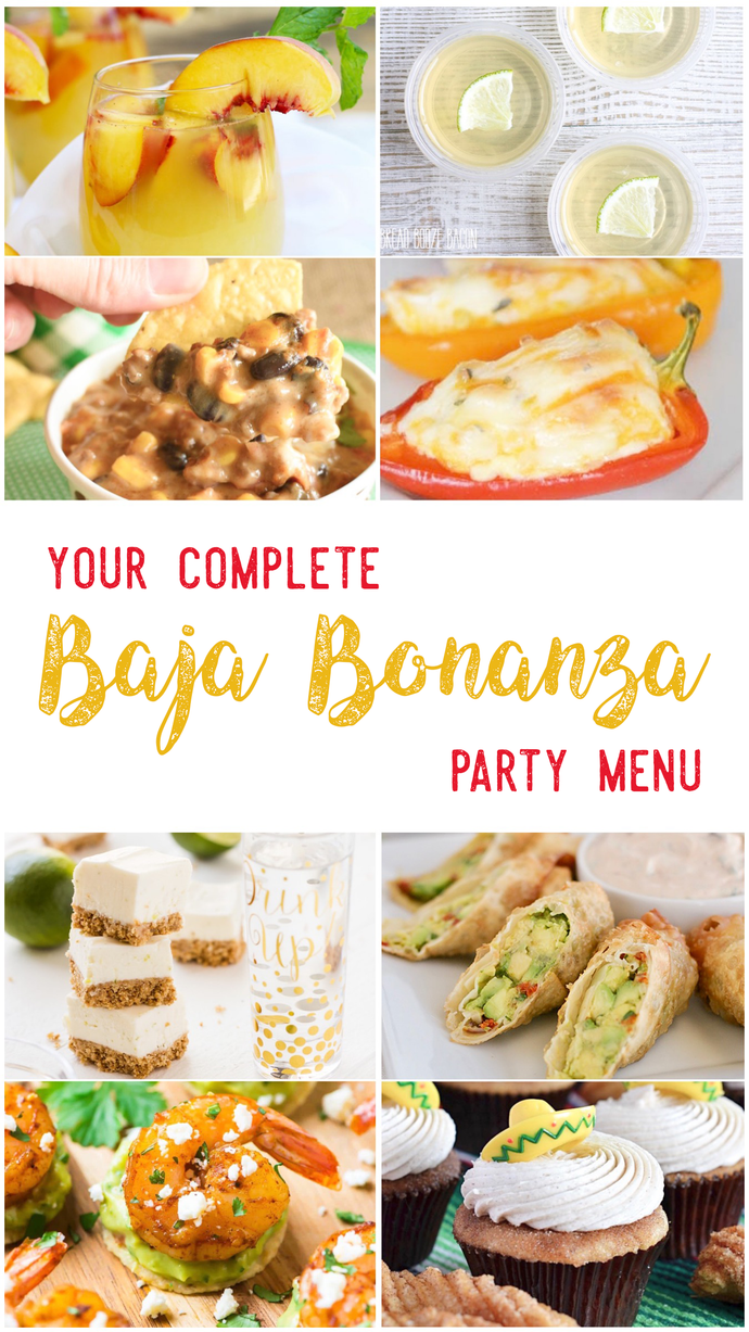 Baja Bonanza Party Menu