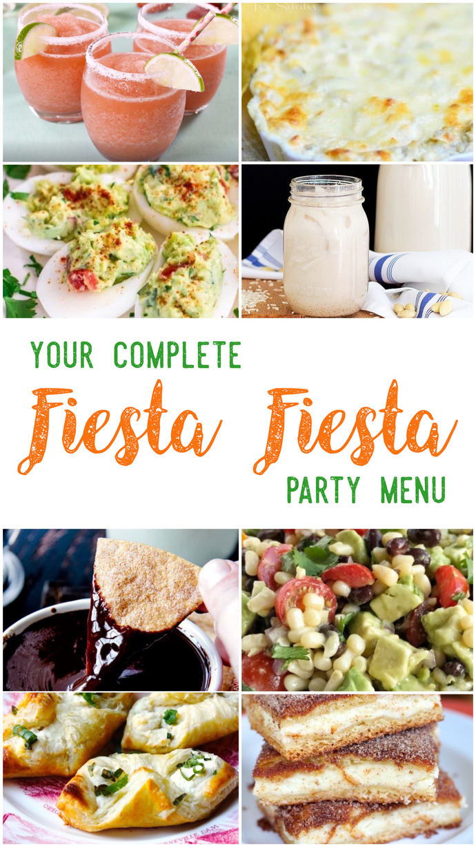 Fiesta Fiesta Party Menu