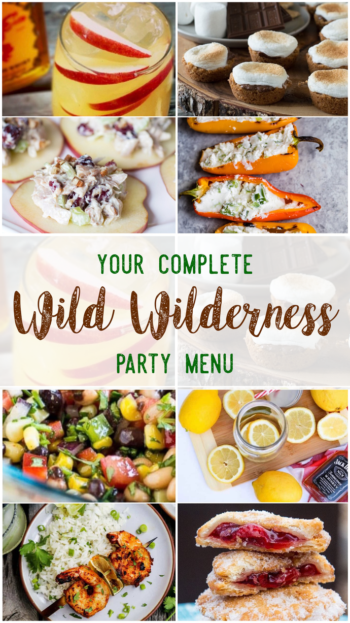 Wild Wilderness Party Menu