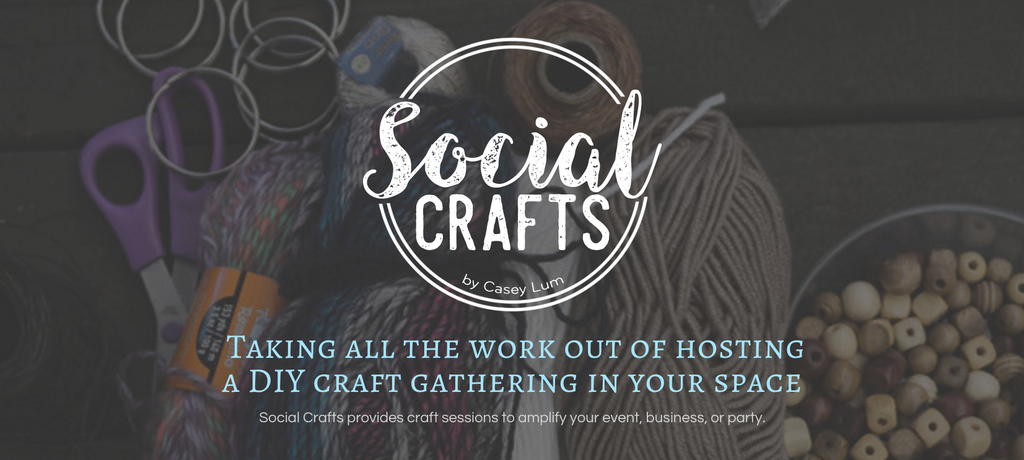 Social Crafts Logo - Hosted DIY Craft Events