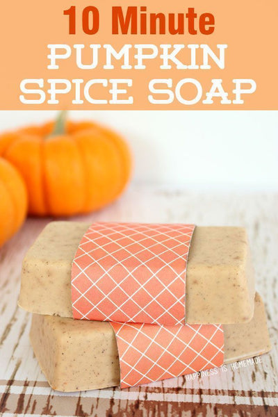 Homemade pumpkin bar soap. Fall Decor. Great for Thanksgiving or halloween. Fall DIY. Link found at socialcrafts.com #falldecor #diyfalldecor #thanksgivingdecor #easydiy #thanksgivingdiy #pumpkinsoap #pumpkindecor #pumpkindiy #halloweendecor #halloweendiy