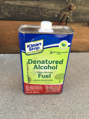 DIY Reclaimed Wood Tutorial - Denatured Alcohol
