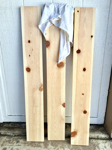Social Crafts - How to make reclaimed wood tutorial DIY