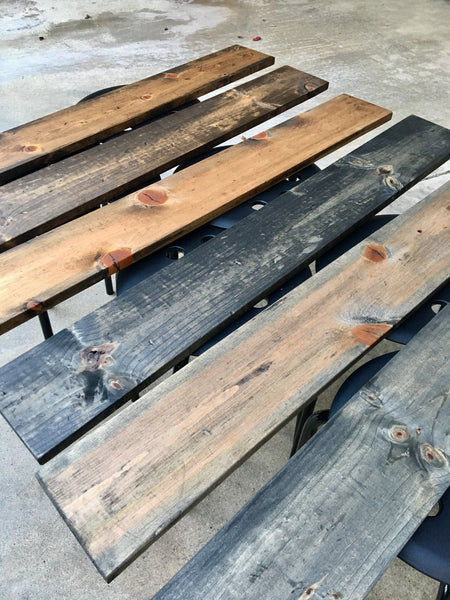 Social Crafts - Easy Reclaimed Wood Tutorial DIY