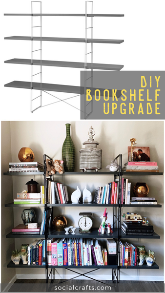 DIY Bookshelf Upgrade