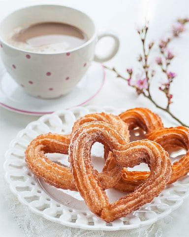 heart churros