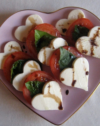 Heart Caprese Salad by education.com