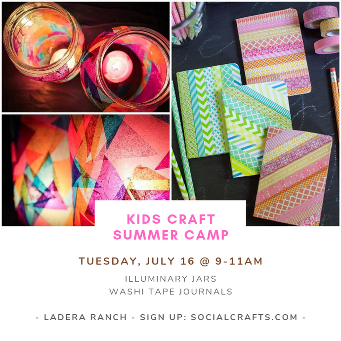 July 16 - TUESDAY - Kids Camp