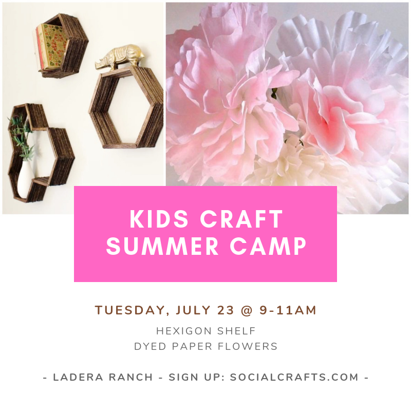 July 23 - TUESDAY - Kids Camp