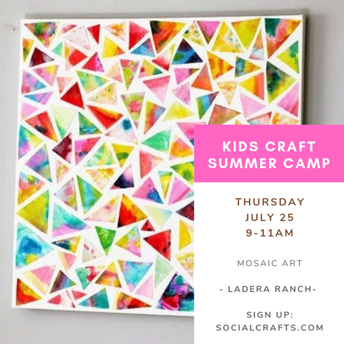 July 25 - THURSDAY - Kids Camp
