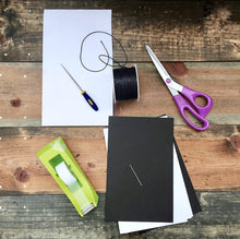 HOW TO: Bind your own Journal (3 journals includ.)