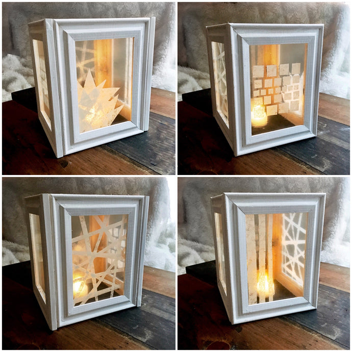 DIY Stained Glass Lantern
