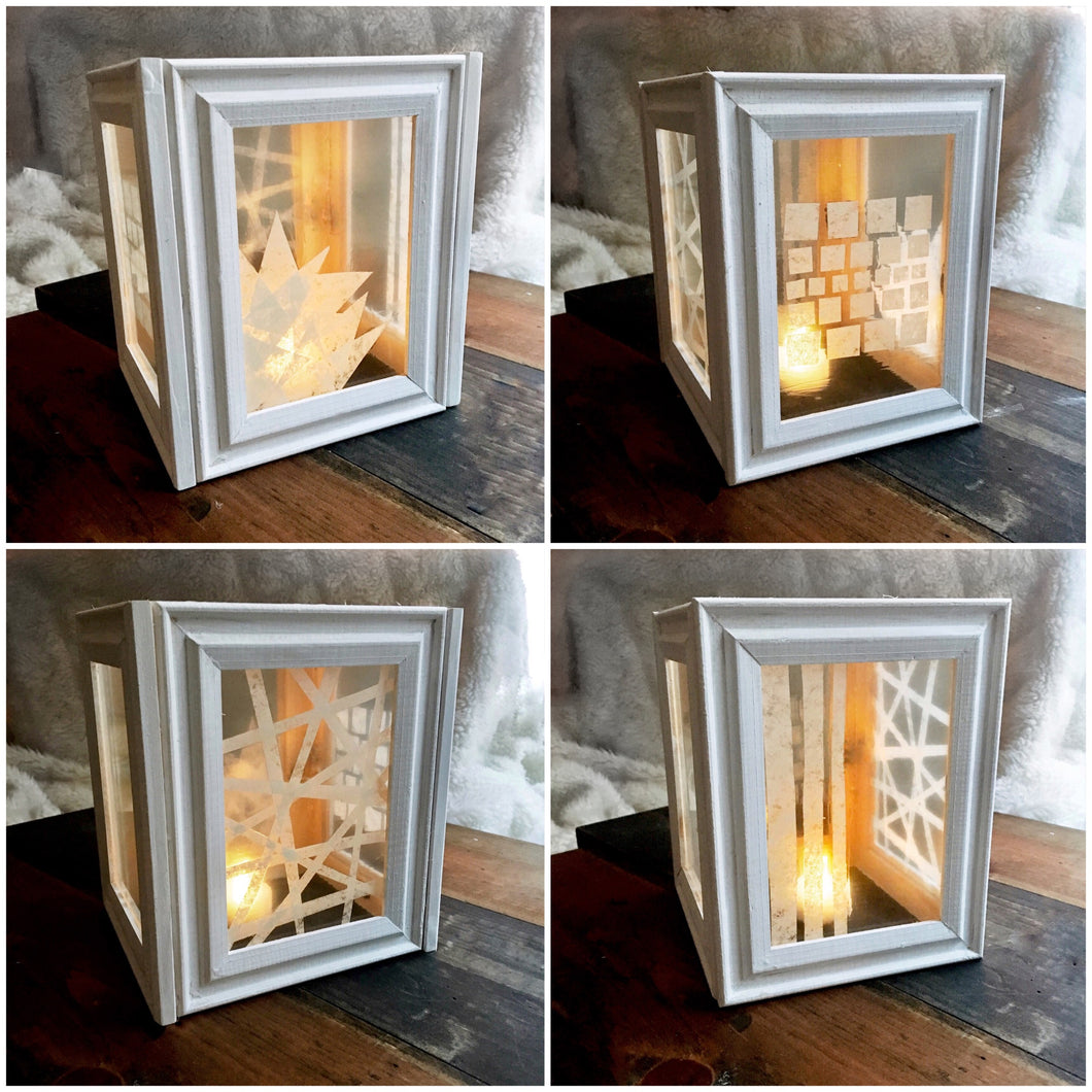 Diy Stained Glass Lantern Social Crafts