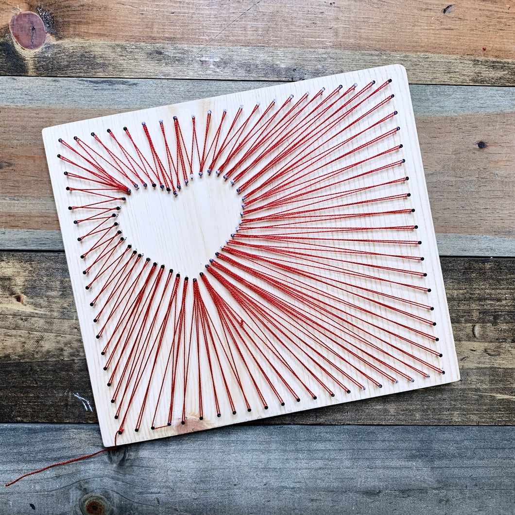 String Heart Art - PARTY BOX (5-20 people)