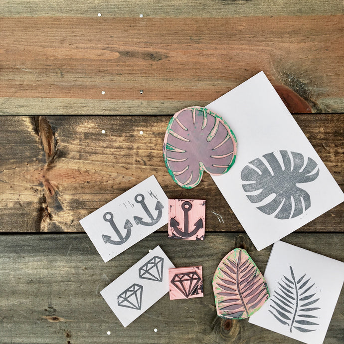 Rubber Stamp Making - PARTY BOX (5-20 people)